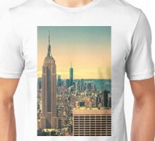 The manhattan skyline Unisex T-Shirt