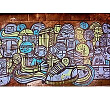 Faces of the City Photographic Print