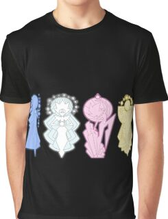 Steven Universe - Diamond Leaders Graphic T-Shirt