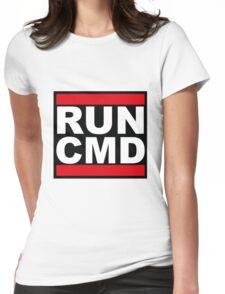 Run CMD Womens Fitted T-Shirt