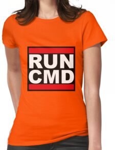 Run CMD Womens Fitted T-Shirt