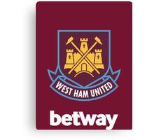 West ham FC  Canvas Print