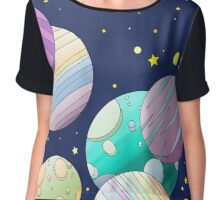 Galaxy Chiffon Top
