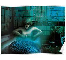 Melancholic Merman Poster