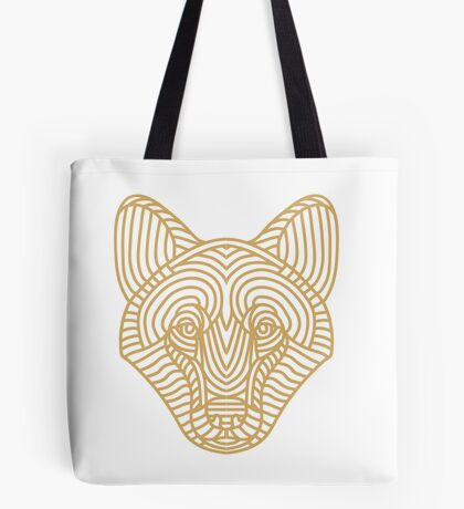 Loup - Wolf Tote Bag