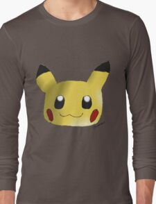 Pokemon - Pikachu Head Long Sleeve T-Shirt