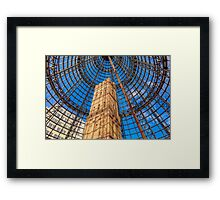 Melbourne Central Shot Tower Framed Print