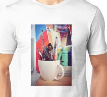 Still Life with Brushes Unisex T-Shirt