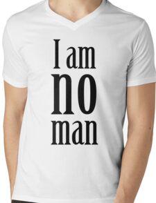 I am no man Mens V-Neck T-Shirt