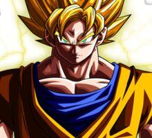 Goku Train Insaiyan - Dragonball Z Sticker