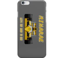 MINARAE - SUPER MONACO GP iPhone Case/Skin