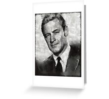 William Holden Hollywood Actor Greeting Card