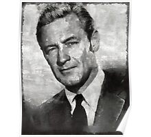 William Holden Hollywood Actor Poster