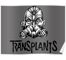 transplants gas mask logo Poster
