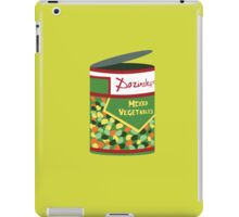 Wet Hot Mixed Vegetables iPad Case/Skin