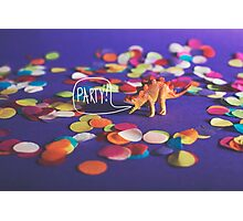 Party Animal! Photographic Print