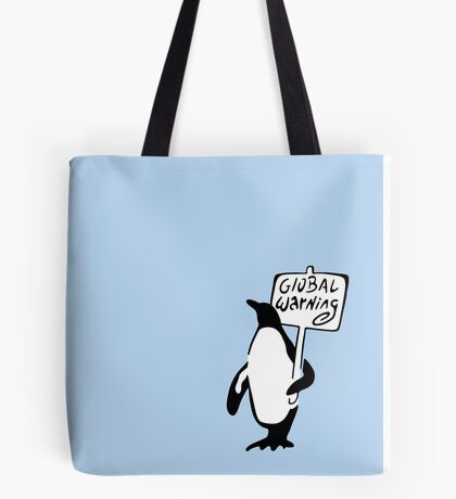Global Warning Tote Bag