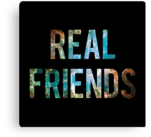 Real Friends Space Canvas Print