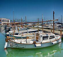 Port Of Pollensa,Majorca by Jim Wilson