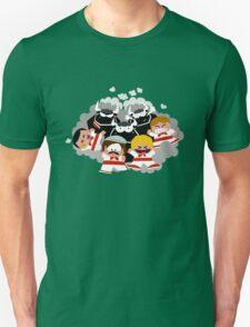 Bull Race (San Fermin) Unisex T-Shirt