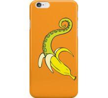 Banana Squid Orange iPhone Case/Skin