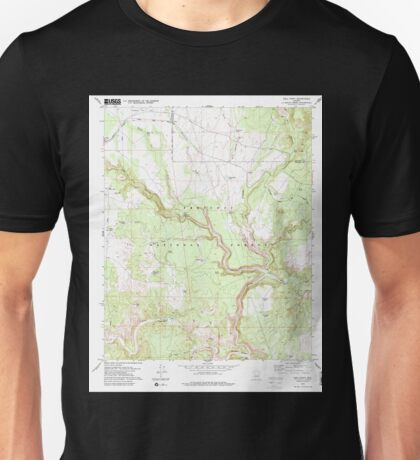 USGS TOPO Map Arizona AZ Hell Point 311720 1979 24000 Unisex T-Shirt