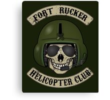 Fort Rucker Helicopter Club Canvas Print