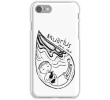 Zodiac Signs: Aquarius iPhone Case/Skin