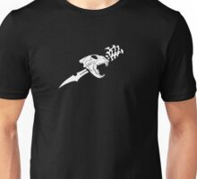 Black Flag Lion Skull Unisex T-Shirt