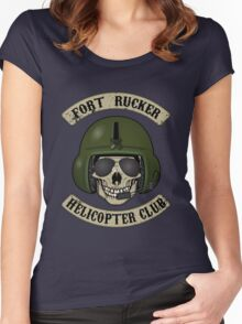 Fort Rucker Helicopter Club Women's Fitted Scoop T-Shirt
