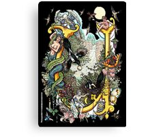The Illustrated Alphabet Capital U (Fuller Bodied) Canvas Print