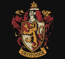 Gryffindor Lion shield flag by Latifa Salma lufa Poerawidjaja