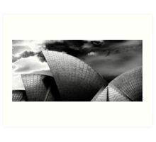 Sails 1, Sydney Opera House Art Print