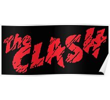 the clash logo Poster