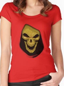 FACE OF EVIL Women's Fitted Scoop T-Shirt