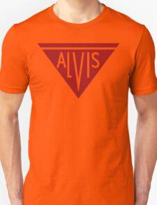 Alvis automobiles classic car logo remake Unisex T-Shirt