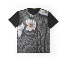 White Poppies I Graphic T-Shirt