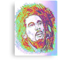 The Legendary Bob Marley Canvas Print