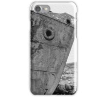 Black and White Boat iPhone Case/Skin