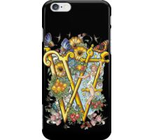 The Illustrated Alphabet Capital W (Fuller Bodied) iPhone Case/Skin