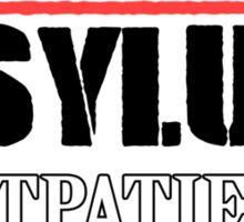 Arkham Asylum - White Sticker