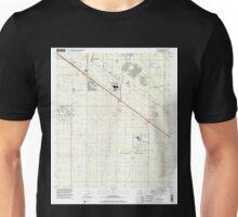 USGS TOPO Map Arizona AZ Tucson SE 313840 1996 24000 Unisex T-Shirt