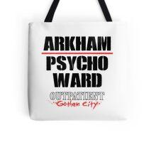 Arkham Psycho Ward - White Tote Bag