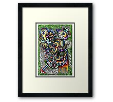161211 Secure In My Own Detached Reality Framed Print