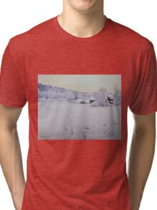 Winter Blanket Tri-blend T-Shirt