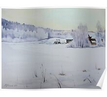Winter Blanket Poster