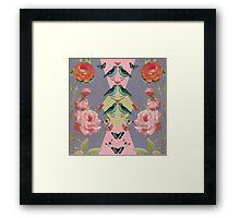 Love Birds (gray version Framed Print