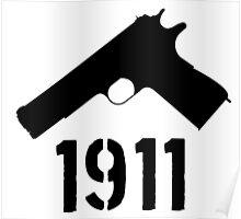 1911 - black Poster