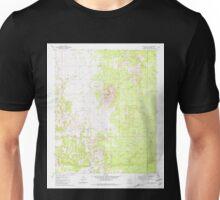 USGS TOPO Map Arizona AZ Trinity Mtn 313788 1981 24000 Unisex T-Shirt