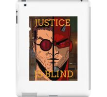 Justice Is Blind iPad Case/Skin